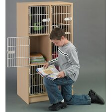 2000 Series 3 Tier 2 Wide Student After School Locker