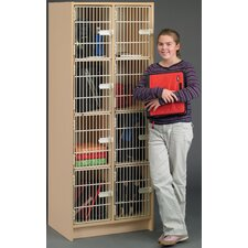 2000 Series 4 Tier 2 Wide Student After School Locker