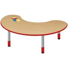 "48"" x 24"" Kidney Classroom Table"
