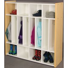 1000 Series 1 Tier 5 Wide Spacesaver Locker