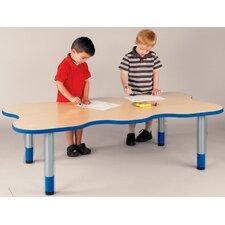 """My Place"" Activity Rectangular Geometric Classroom Table"