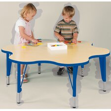 """""""My Place"""" Play Round Geometric Classroom Table"""