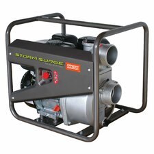 299 GPM Storm Surge Portable Semi Trash Pump