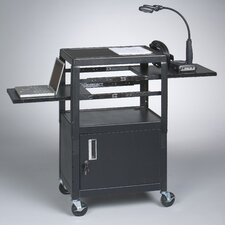 Dual Adjustable AV Cart