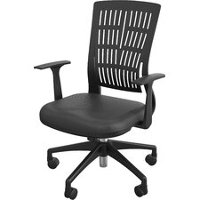 Fly Mid Back Conference Chair with Arms