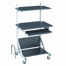 BALT® Totally Adjustable Mobile AV Cart