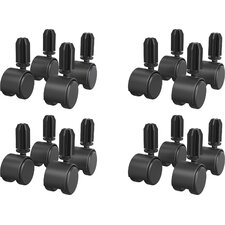 Circulation Casters (Set of 16)
