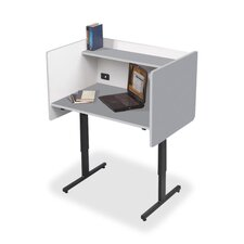 Laminate Study Carrel Desk