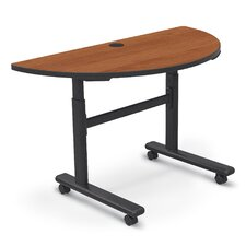 Height Adjustable Half-Round Flipper Training Table