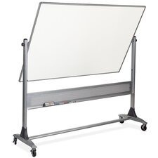 Reversible Free Standing Whiteboard, 4' x 6'