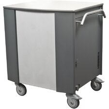 32-Compartment Tablet Storage Cart