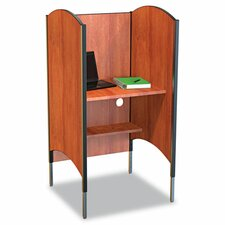 High-Pressure Laminate Study Carrel Desk