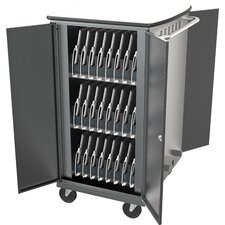 48-Compartment Laptop Charging Cart
