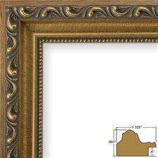 """1.33"""" Wide Ornate Picture Frame"""