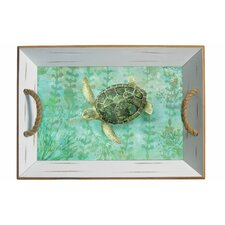 Sea Turtle Bamboo Serving Tray