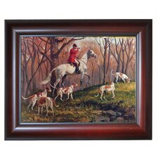 'Going Home' by Sam Savitt Framed Photographic Print on Wrapped Canvas