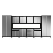 Pro Stainless Steel 12-Piece Cabinet Set