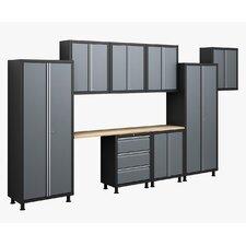 RTA Series 6' H x 14' W x 1.5' D 10-Piece Cabinet Set