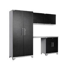 Performance Plus Diamond Series 7' H x 8' W x 2' D 5 Piece Cabinet Set