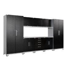 Performance Plus Diamond Series 7' H x 13' W x 2' D 9 Piece Cabinet Set