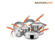 Stainless Steel 10 Piece Cookware Set