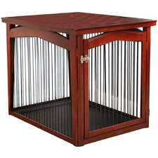 2-in-1 Configurable Pet Crate & Gate