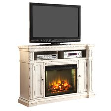 New Castle TV Stand with Electric Fireplace