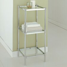 "Glacier 13.25"" x 33.75"" Bathroom Linen Tower"