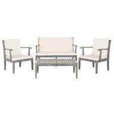Bradbury 4 Piece Seating Group with Cushions