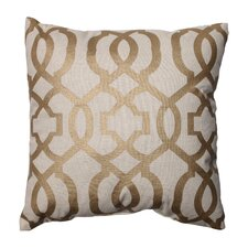 Geometric Polyester Throw Pillow