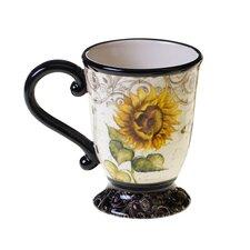 French Sunflowers 16 Oz. Mug (Set of 4)