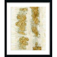 Gold Brushstroke Giclee Print