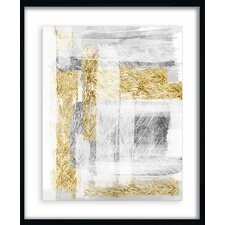Linear Gold Giclee Print