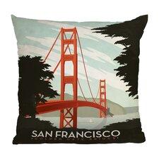 Anderson Design Group San Francisco Throw Pillow