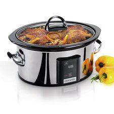 Countdown Touchscreen Digital 6.5 Qt. Slow Cooker