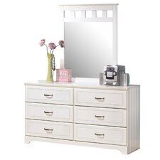 Lulu 6 Drawer Dresser