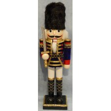 Soldier Painted Wood Nutcracker