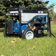 Portable 9,000 Watt Gasoline Generator with Electric Start