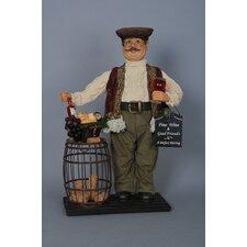 Classic Home Wine Barrel Cork Collector