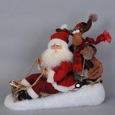 Christmas Spirit Santa Figurine