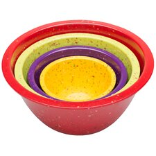 Confetti 4 Piece Nesting Bowl Set