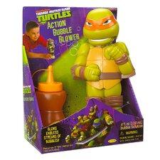 Teenage Mutant Ninja Turtles Michelangelo Action Bubble Blower