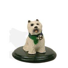 White Scottie Dog Figurine