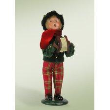 Musical Family Boy Figurine
