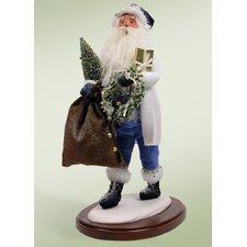 Walking in a Winter Wonderland Santa Figurine