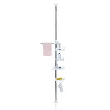 Yijin Bathroom Tub and Shower Tension Pole Caddy