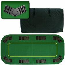 Deluxe Texas Holdem Folding Poker Tabletop