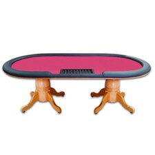 "Poker & Casino 90"" Deluxe Hold'em Poker Table"