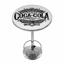 "Coca Cola Brazil 42"" Pub Table"
