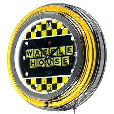 "Waffle House 14.5"" Wall Clock"